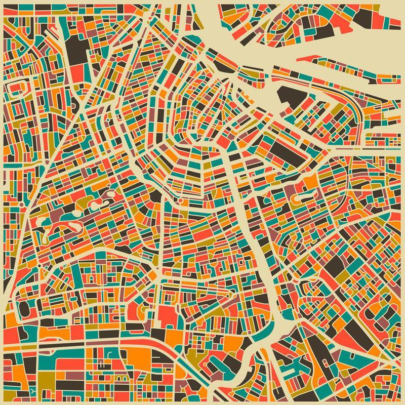Amsterdam -Alubild