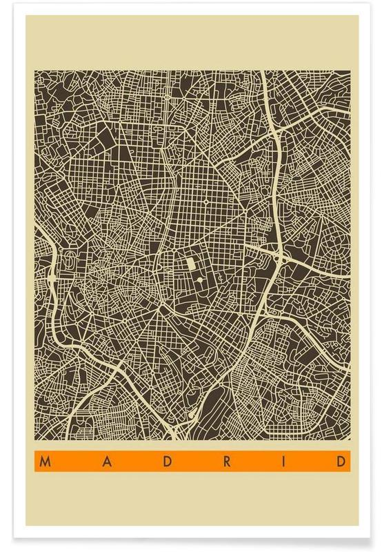 Madrid II Poster