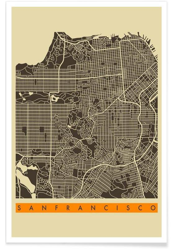 San Francisco II Poster