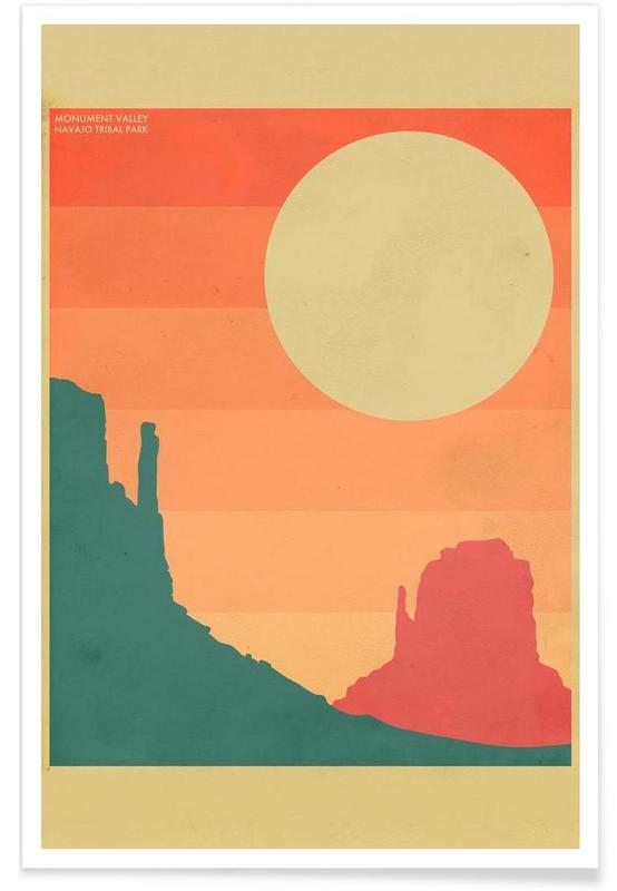 Monument Valley -Poster