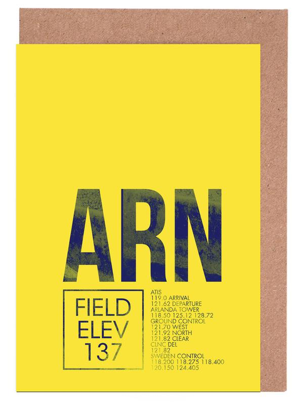 ARN Stockholm Greeting Card Set