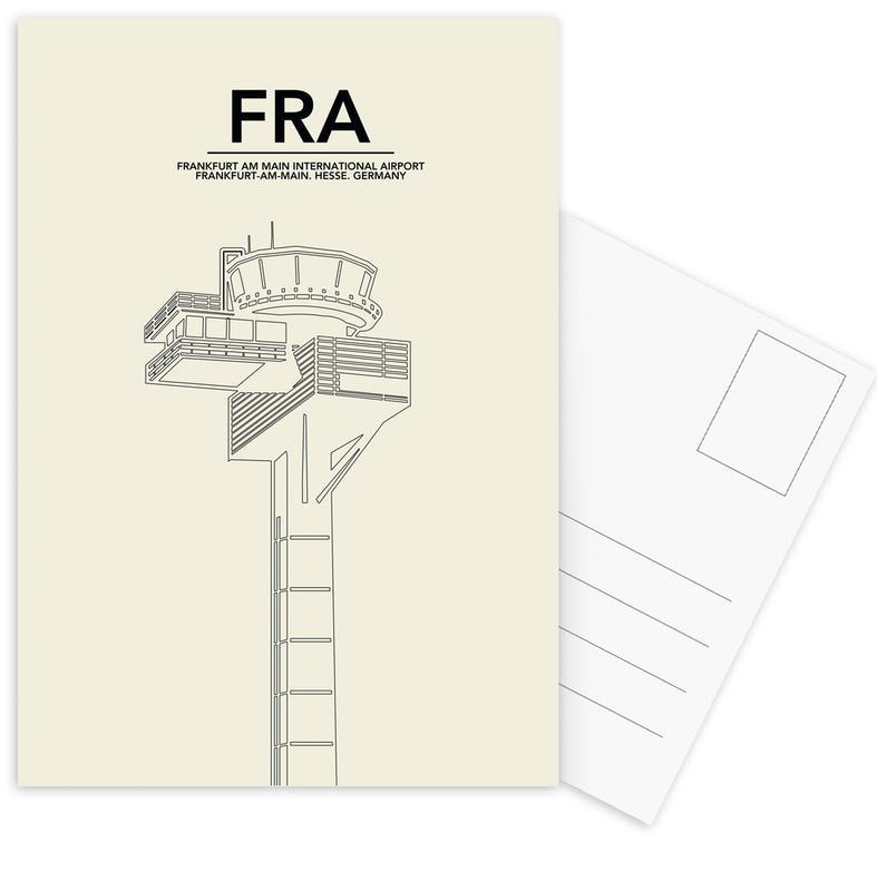 FRA Frankfurt Tower Postcard Set