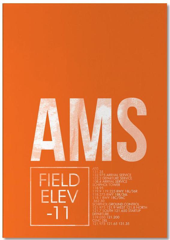 AMS Amsterdam bloc-notes