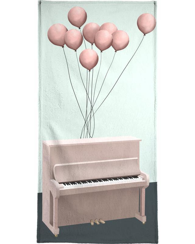 Piano Bath Towel