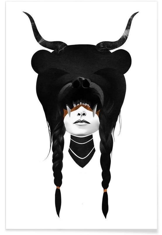 Bear Warrior Poster