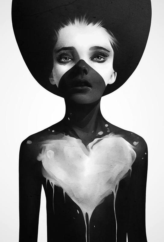 Hold on -Acrylglasbild