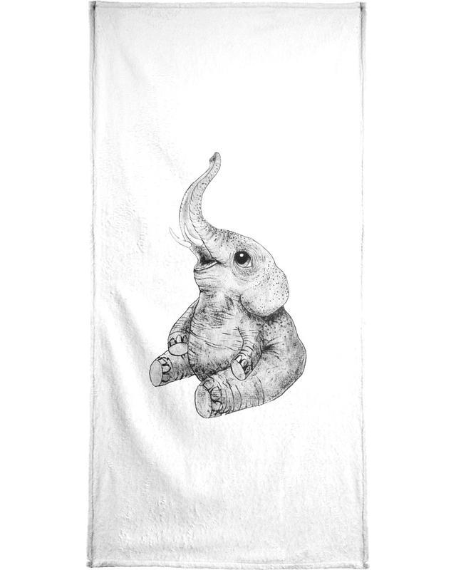 Elephant -Handtuch