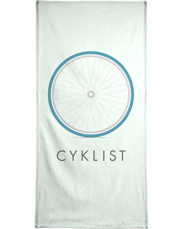 Cyklist Handtuch | Bad > Handtücher > Handtuch-Sets | Mehrfarbig