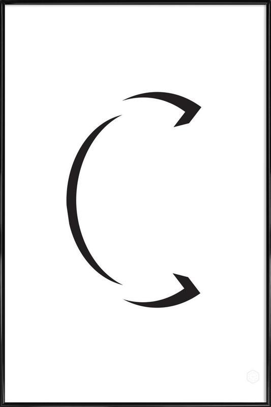 Alpha - C Framed Poster
