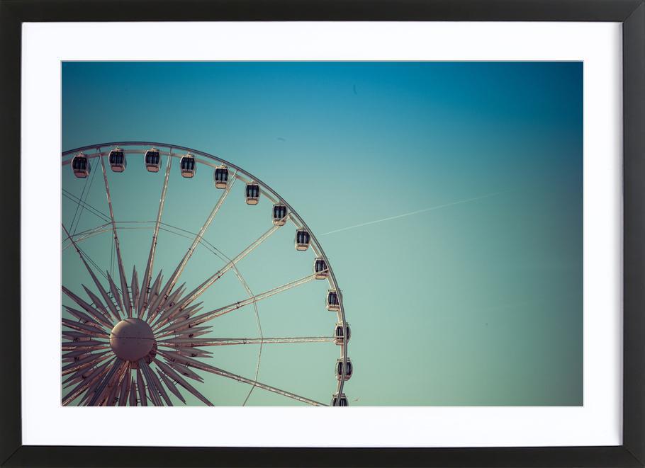 Riesenrad Brighton -Bild mit Holzrahmen