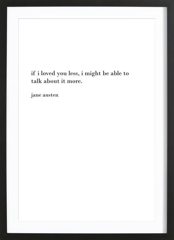 austen Framed Print