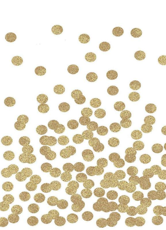 Gold Glitter Leinwandbild