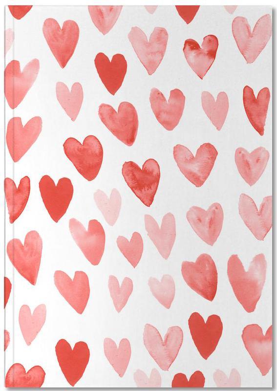 Valentines Hearts Notebook