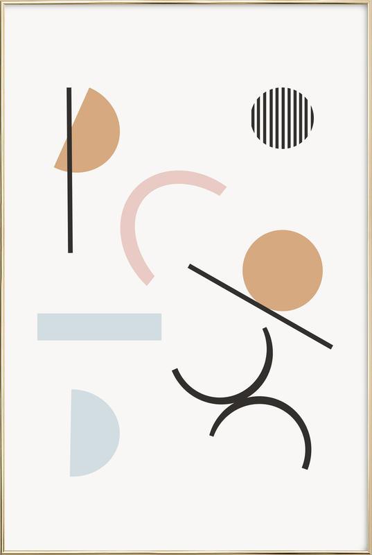 Adelpha Poster in Aluminium Frame