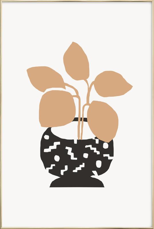 Amethea -Poster im Alurahmen