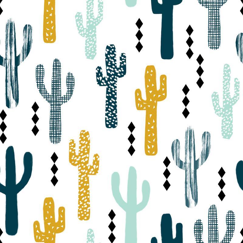 Cactus Mustard -Leinwandbild