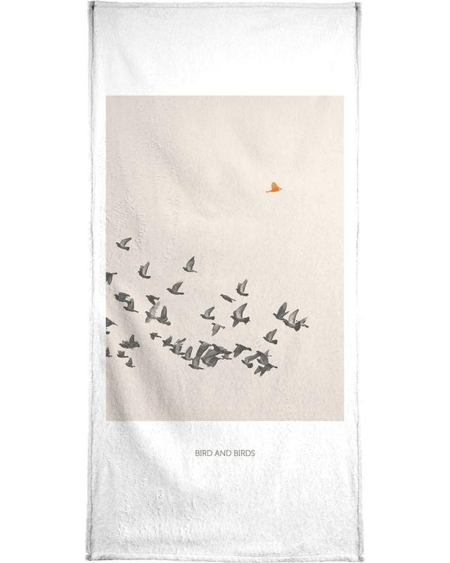 Bird And Birds Handtuch