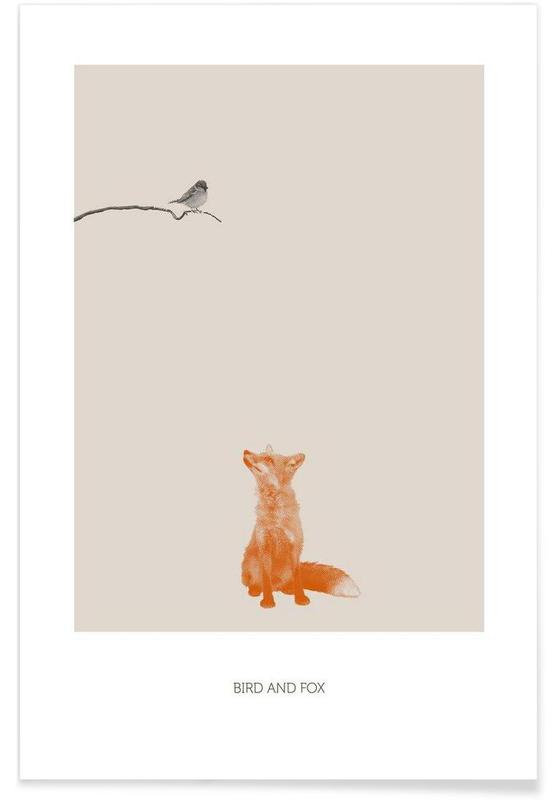 Bird And Fox Poster