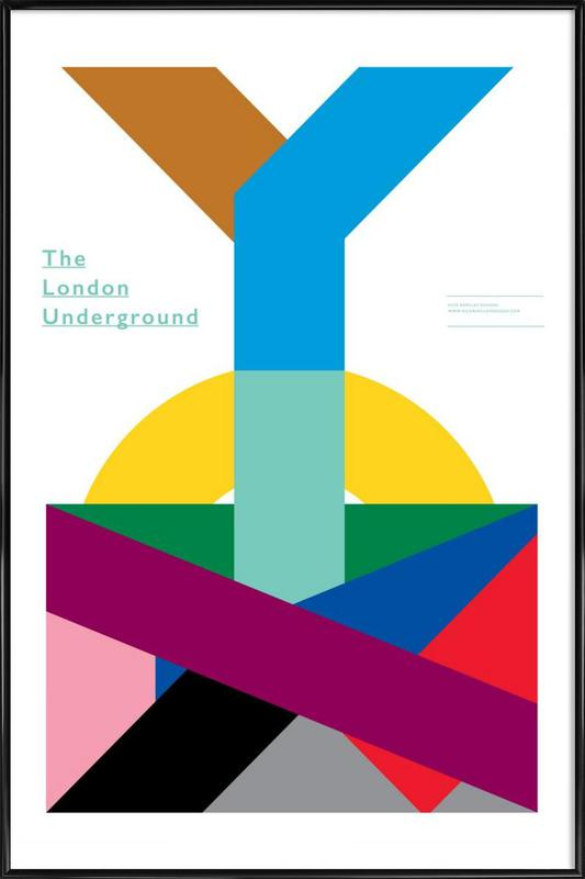 London Underground Framed Poster