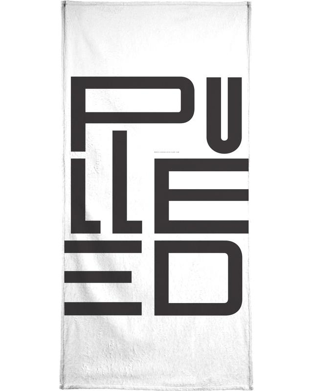 Pulled -Handtuch