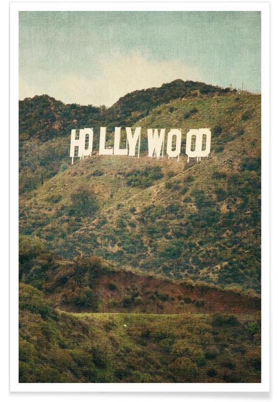 Hollywood Photograph Poster