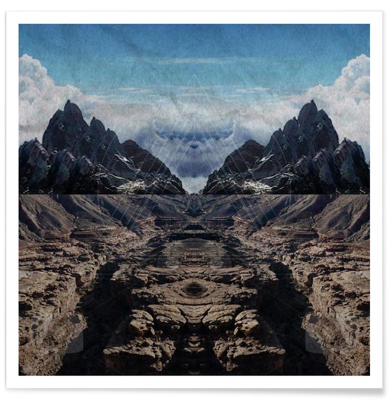 Someday - Landscape affiche