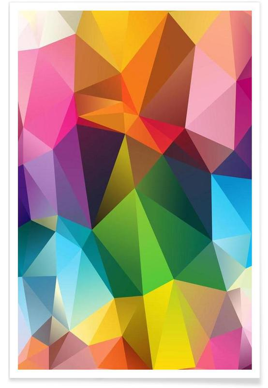 Geometric View Poster
