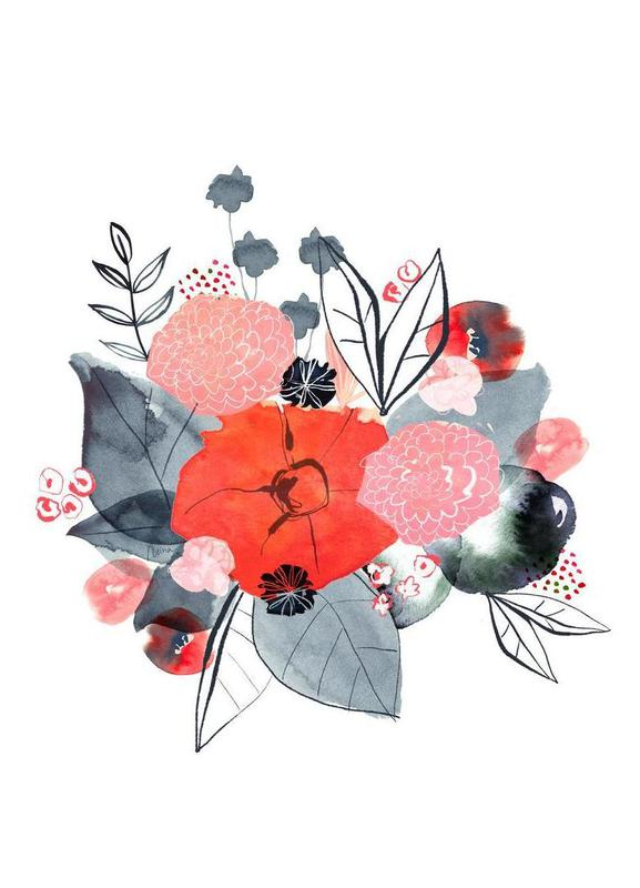 Flowers -Leinwandbild