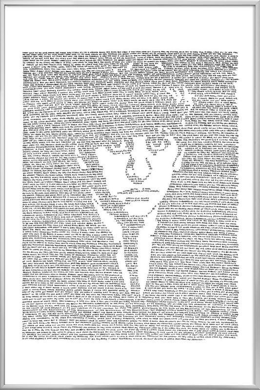 Ringo poster in aluminium lijst