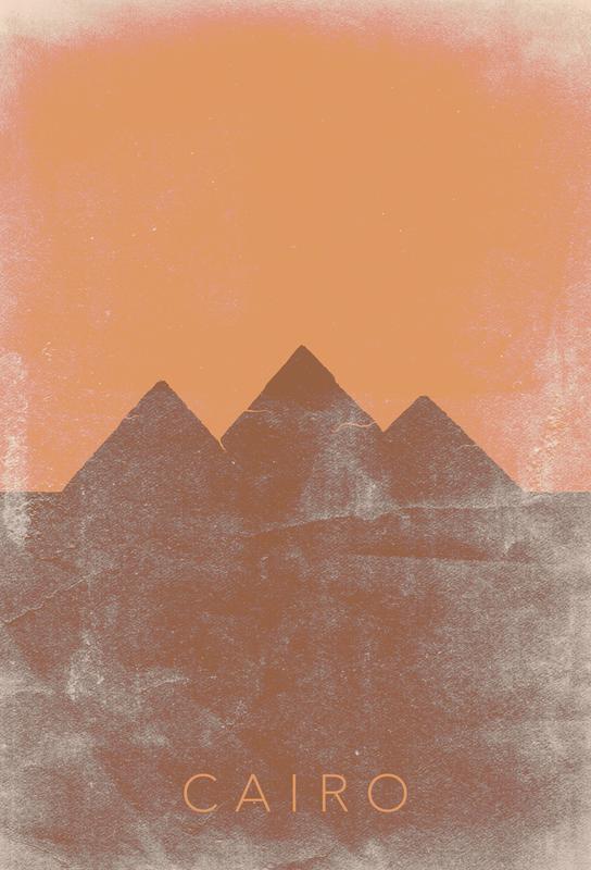 Cairo Alu Dibond Druck
