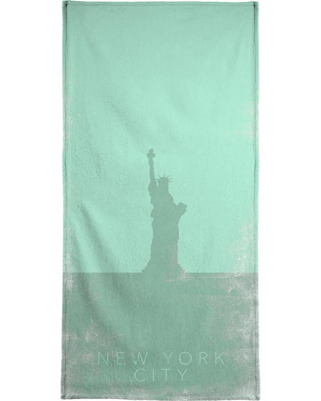 New York City serviette de bain