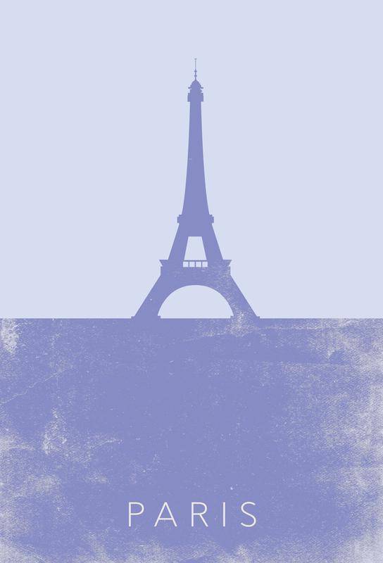 Paris Alu Dibond Druck