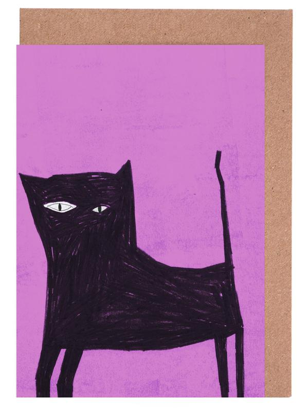 Katze 2 Grußkartenset