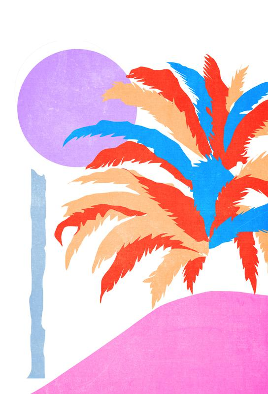Palm 5 -Alubild