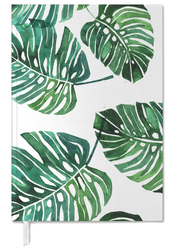 Monstera Pattern Personal Planner