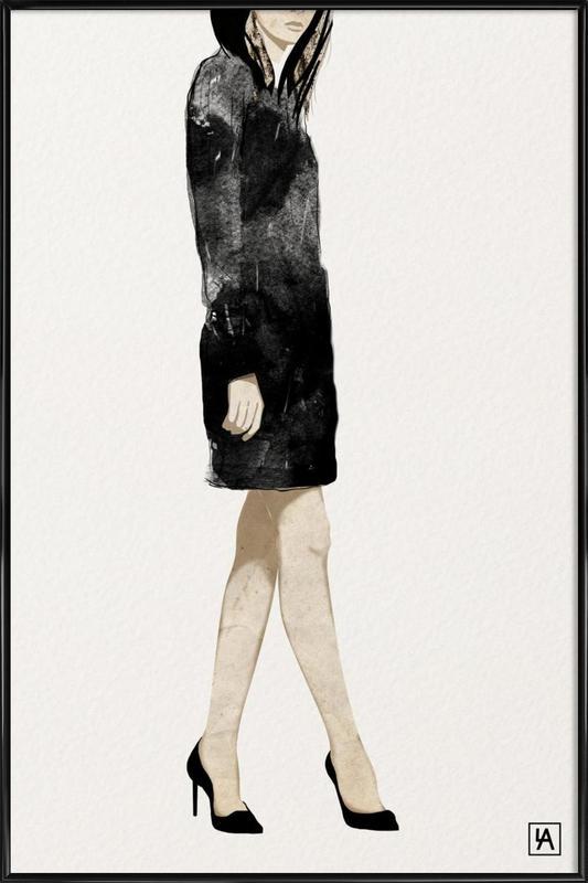 BB Lady 2 affiche encadrée