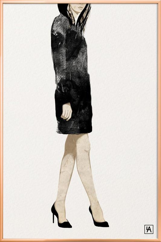 BB Lady 2 Poster in Aluminium Frame