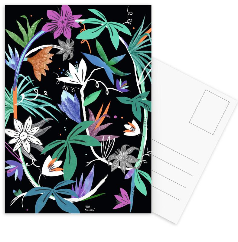 Botanica Passionflower 4 Postcard Set