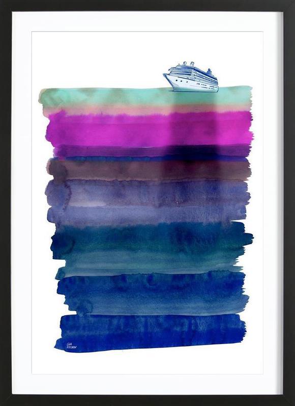 Silent Sea Framed Print