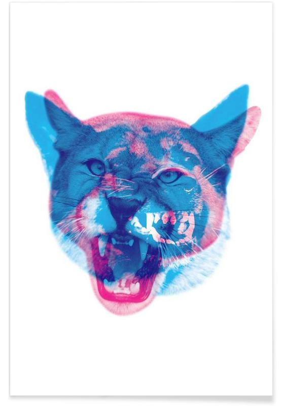 Cat Dog Poster
