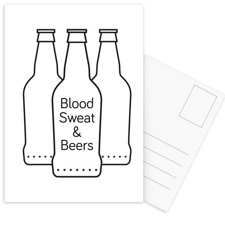 Beer cartes postales