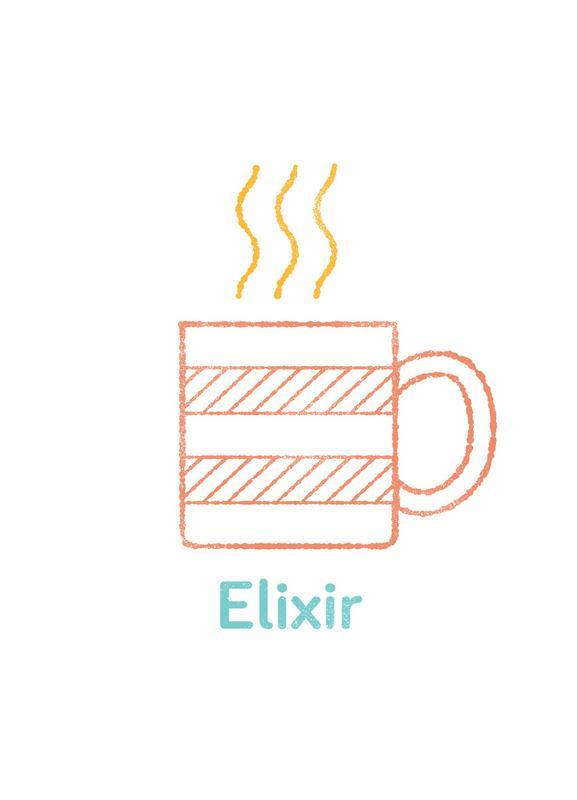 Elixir -Leinwandbild