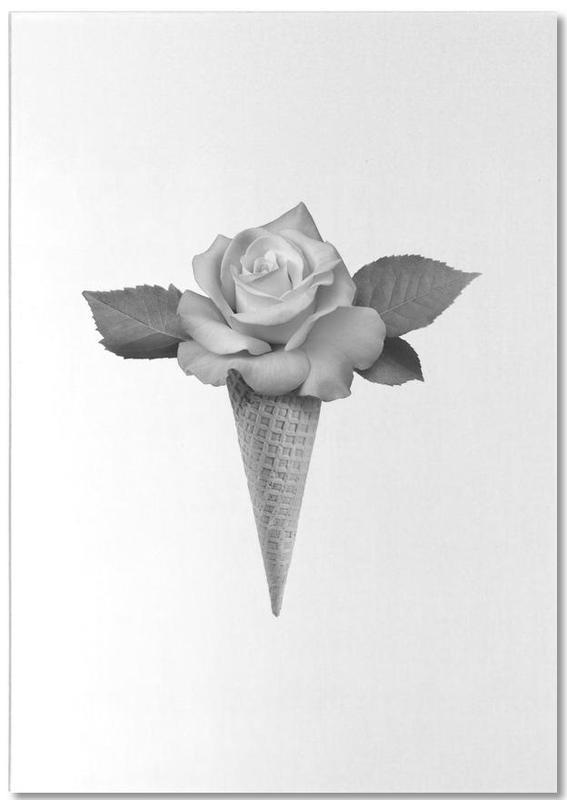 Rose Cream -Notizblock