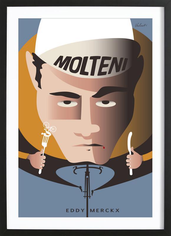 Merckx Framed Print