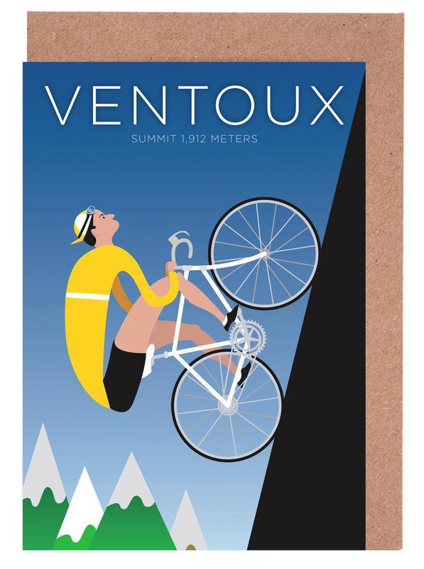 Ventoux -Grußkarten-Set