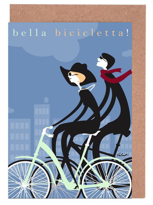Bella Bicicletta -Grußkarten-Set