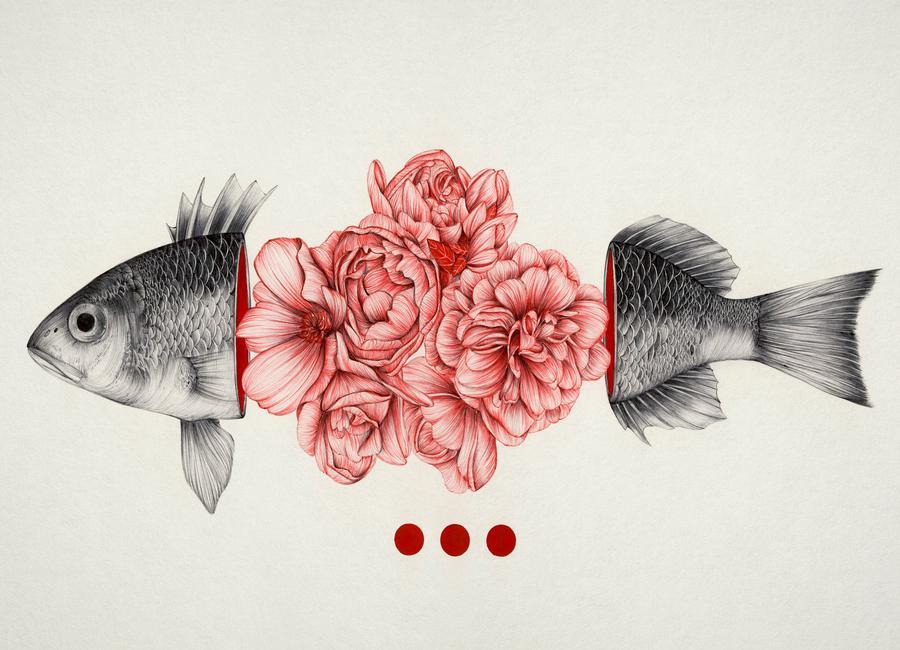 To Bloom Not Bleed -Leinwandbild