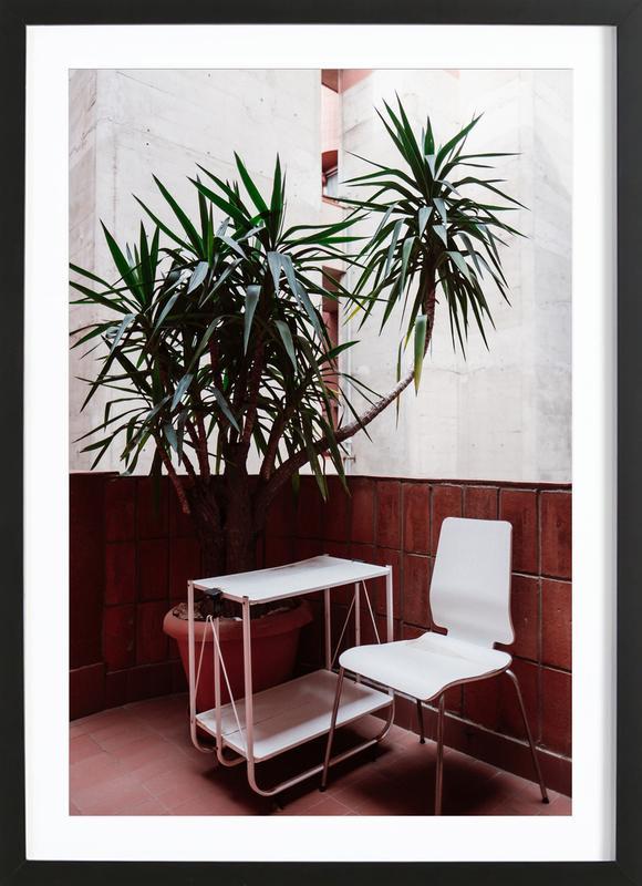 Walden Chair -Bild mit Holzrahmen