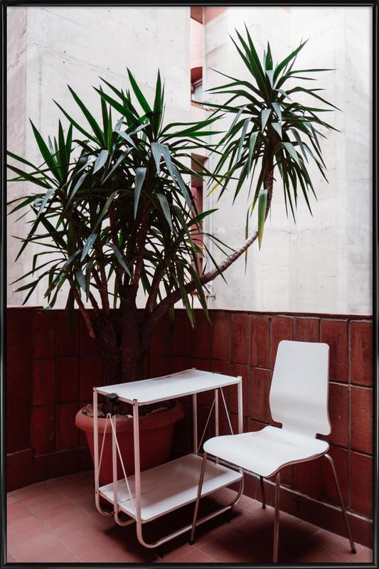 Walden Chair -Bild mit Kunststoffrahmen
