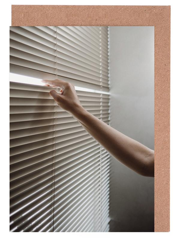 Window Blinds Greeting Card Set